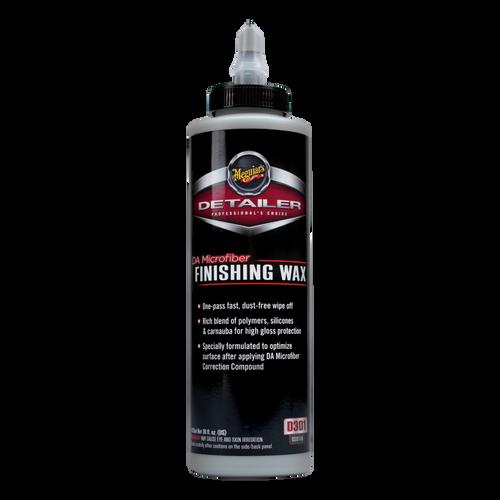 The Clean Garage Meguiars D301 DA Microfiber Finishing Wax 16oz | D30116