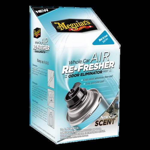 Meguiar's Whole Car Air Refresher Odor Eliminator  New Car Scent