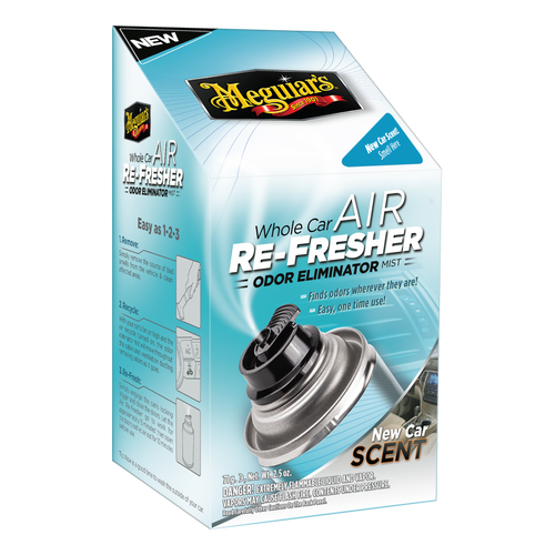 The Clean Garage Meguiars Whole Car Air Refresher Odor Eliminator   New Car Scent