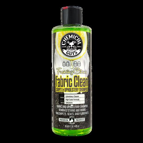 Chemical Guys Foaming Citrus Clean Carpet & Upholstery Shampoo 16oz
