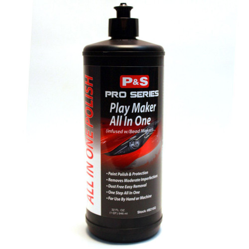 The Clean Garage P&S Play Maker 32oz   All In One Polish w/ Bead Maker Paint Sealant