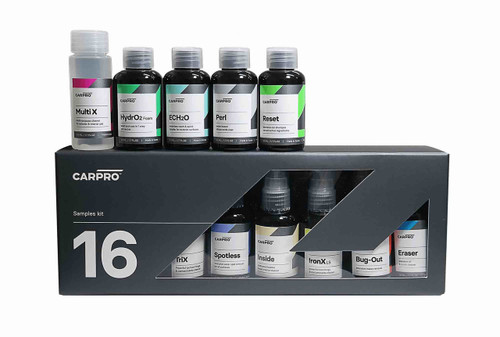 NEW CarPro Sample Kit - 16 50ml Car Care Bottles