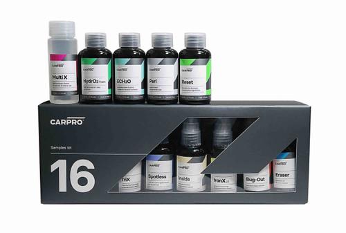 The Clean Garage CarPro Sample Kit | Box of 16 50ml Detailing Products