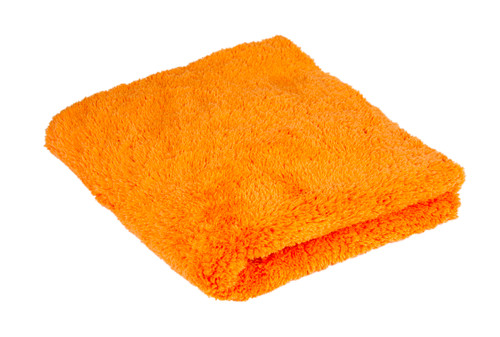 Ultra Plush Edgeless 500 GSM Microfiber Detailing Towel Orange | Korean