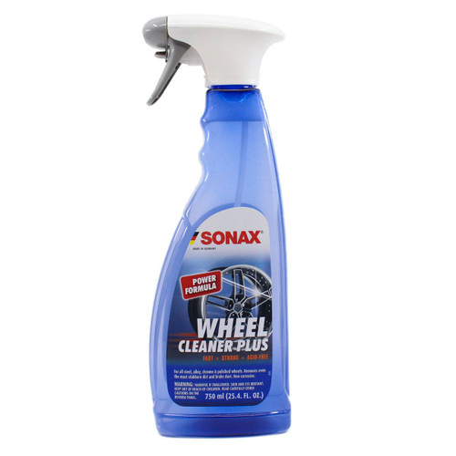 The Clean Garage Sonax Wheel Cleaner PLUS 750ml | New Formula With Iron Remover 25.4oz