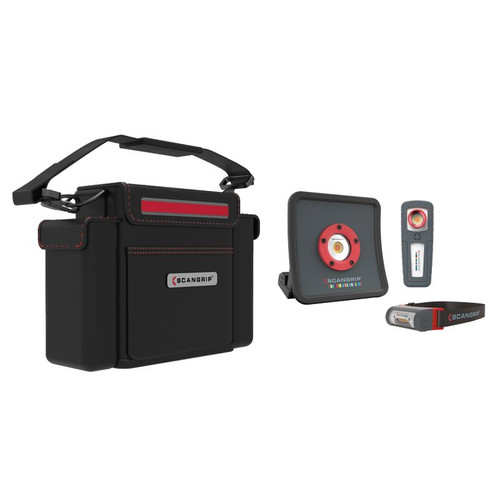 ScanGrip Light Kit | Essential Kit | 3 Lights and Case