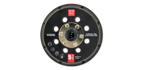 "Griot's Garage 5"" Backing Plate Vented | For G9 Orbital Polisher"