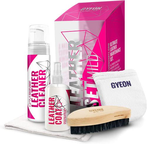 Gyeon Q2M Leather Set Mild | Cleaner and Coating Kit