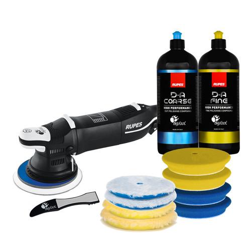 The Clean Garage Rupes LHR21 Mark III Polisher Bodyshop Kit | Bigfoot PBE Combo