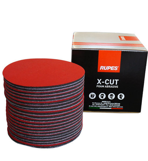 "RUPES X-Cut Foam Backed Abrasive Disc 150mm 6"" - 3000 Grit"
