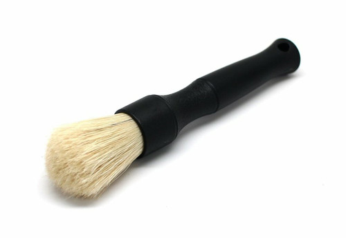 The Clean Garage Detail Factory Boars Hair Detailing Brush   Black Small