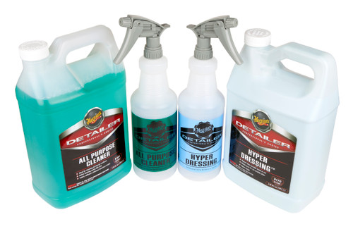 Clean Garage Meguiars Tire And Engine Cleaning Kit | D170 Hyper Dressing D101 APC