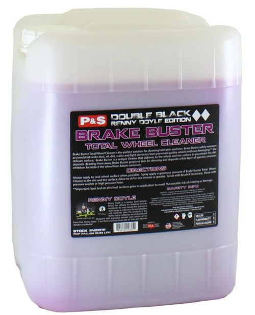 The Clean Garage P&S Brake Buster 5 Gallon | Double Black Wheel & Tire Cleaner