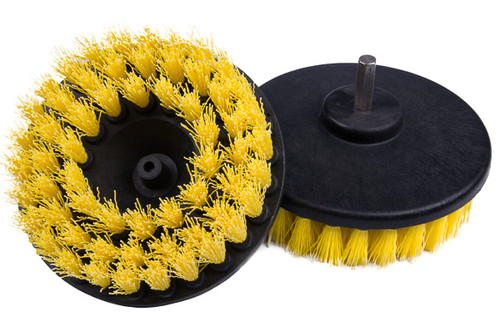 """Upholstery Cleaning Brush Drill Attachment 