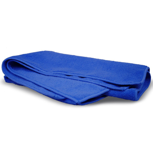 "Bilt Hamber Large Microfiber Buffing Towel Blue | 16"" x 24"""