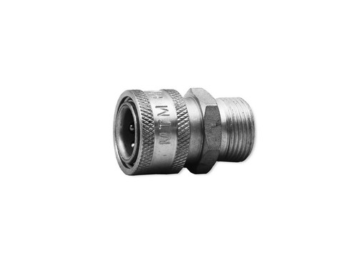 """MTM M22 Male 15MM X 3/8"""" QC Coupler Hose 