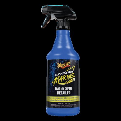 The Clean Garage Meguiars Extreme Marine Boat Water Spot Detailer Spray 32oz | M180232