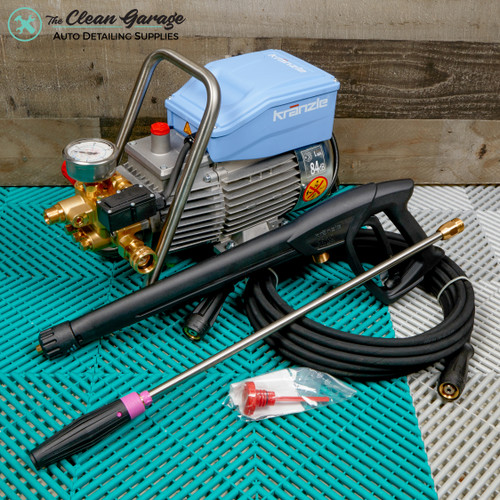 The Clean Garage Kranzle K1622TS Pressure Washer | 1622 Total Stop 1.7 GPM 1600psi