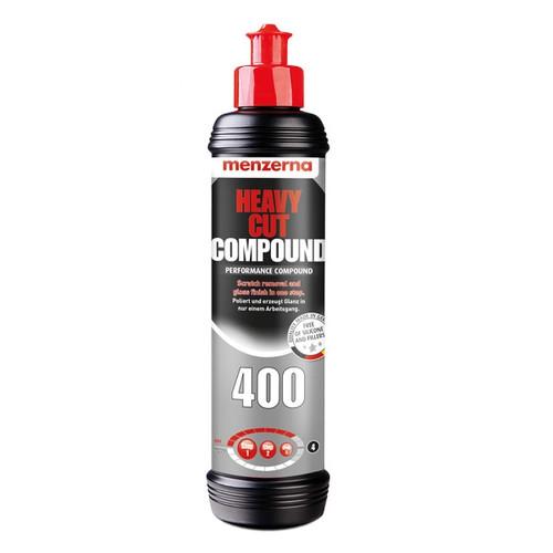 The Clean Garage Menzerna 400 Heavy Cut Compound 8oz   M-400-8