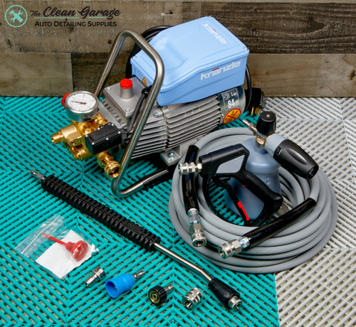 The Clean Garage Kranzle K1622TS Pressure Washer Total Stop | MTM Detailing Package Level 3