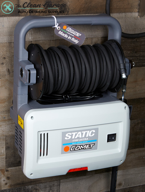 The Clean Garage Comet Static 1700 Electric Wall Mount Pressure Washer | 2.2 GPM