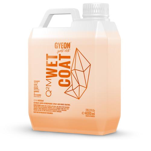 The Clean Garage GYEON Q2M WetCoat 4000ml | Hydrophobic Booster Spray & Rinse