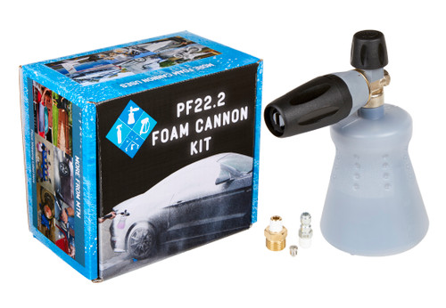 Clean Garage MTM PF22.2 Foam Cannon   New Standing Bottle   For Pressure Washer