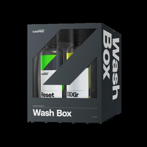 CarPro Wash Box - Car Wash Kit for Ceramic Coatings Reset Elixir