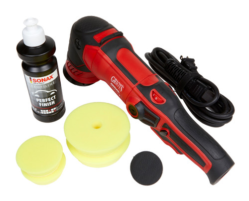 Clean Garage Griot's Garage G8 Polisher Kit | DA Combo With Pads and Polish
