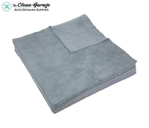 The Clean Garage Gtechniq MF1 Towel | ZeroR Microfiber Buff Cloth | 10 Pack