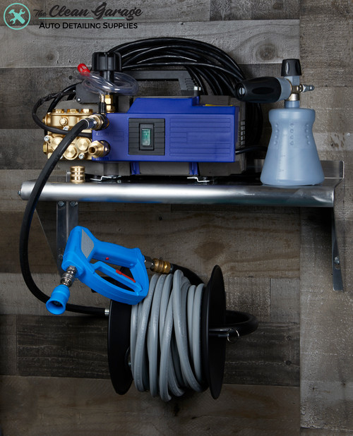 The Clean Garage AR630TSS Pressure Washer Complete Wall or Cart Mount Package   Level 5