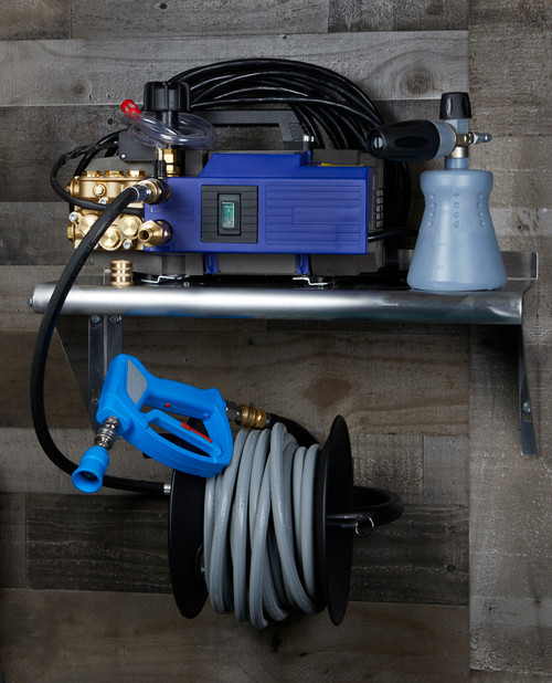 Clean Garage AR630TSS Pressure Washer Complete Wall or Cart Mount Package | Level 5
