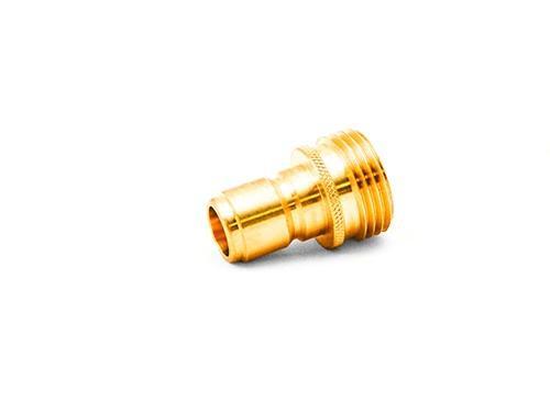 "MTM 3/4"" Male Garden Hose QC Plug | Brass"