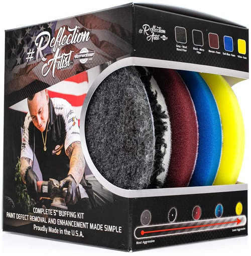 """The Clean Garage Reflection Artist Complete 5"""" Buffing Kit 