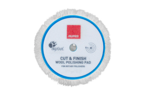 "Rupes Cut & Finish Wool Rotary Pad 5"" | 125mm Backing Plate"