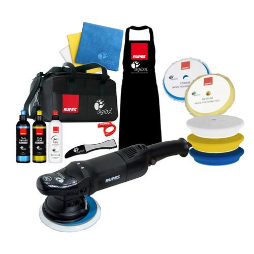 The Clean Garage Rupes LHR21 ES Polisher Complete Kit | Bigfoot Bag Combo