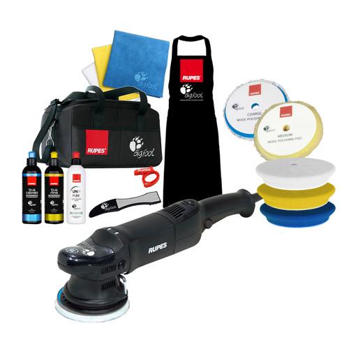 The Clean Garage Rupes LHR15 ES Polisher Complete Kit   Bigfoot Bag Combo