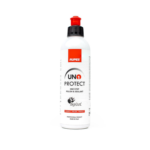 The Clean Garage Rupes Uno Protect 250ml | 8.5oz All in One Polish with Sealant