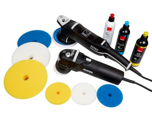 Clean Garage Rupes Paint Correction Starter Kit | LHR21 Mark III & LHR75E Polishers