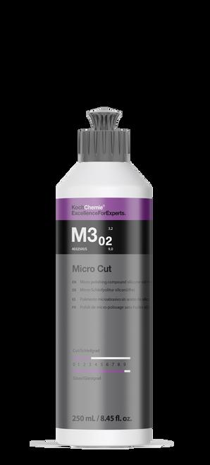 Koch Chemie Micro Cut Compound Polish | M3.02 250ml 8.45oz