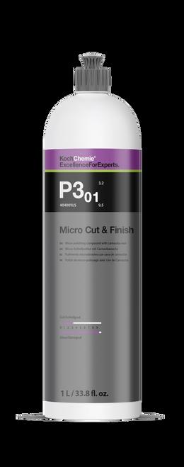 Koch Chemie Micro Cut & Finish Polish w/ Carnauba Wax | P3.01 1 Liter