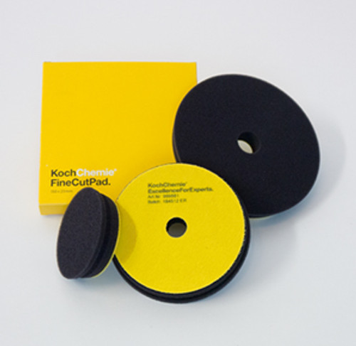 "5"" Koch Chemie Fine Cut Pad | Yellow Foam Medium Polishing"