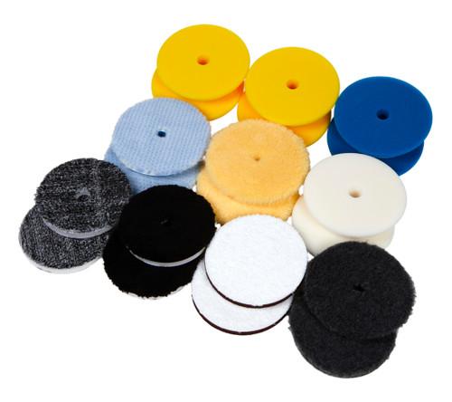 "Clean Garage TCG Ultimate Polishing Pad Kit | 20 Pads for 6"" Backing Plate | DA"