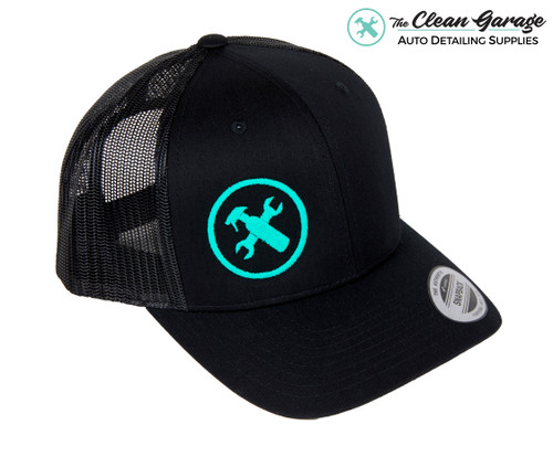 The Clean Garage Minty Clean Hat   2 Styles   Snapback or Trucker