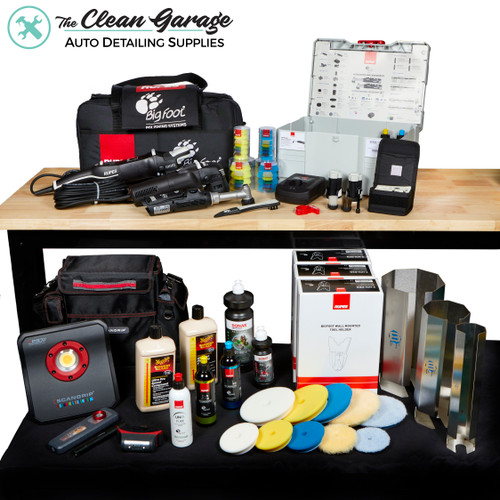 The Clean Garage Ultimate Machine Polisher Kit | RUPES Scangrip & More