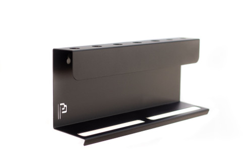 "The Clean Garage Poka Premium Wall Mount Detail Brush & Bottle Holder | Blank | 15.75"""