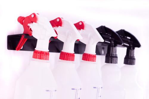 """Clean Garage Poka Premium Wall Mount Detail Bottle Spray Top Holder   15.75"""""""