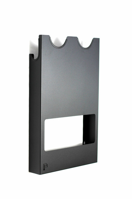 The Clean Garage Poka Premium Wall Mount Polisher Holder | Holds 2 to 4 Machines