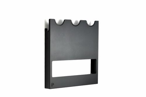The Clean Garage Poka Premium Wall Mount Polisher Holder | Holds 3 to 5 Machines