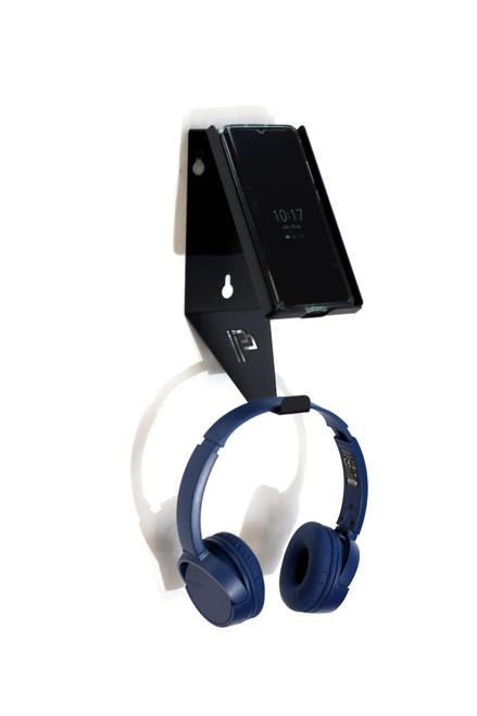 Clean Garage Poka Premium Wall Mount Holder For Phone and Headphones